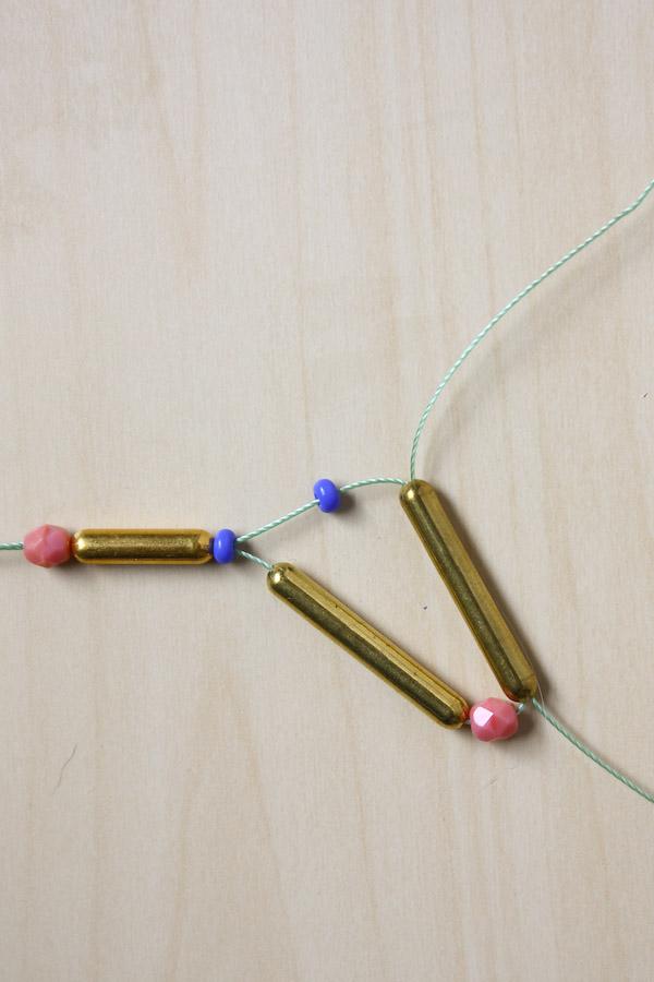 Tribal Necklace DIY Tutorial